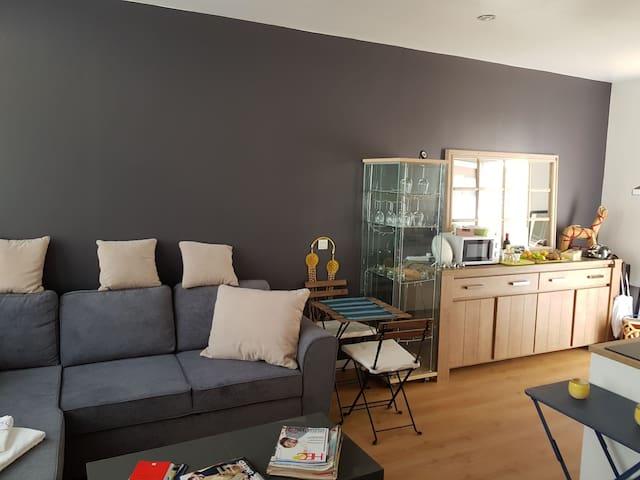 Cosy apartment (46 sqm) - direct access to Paris