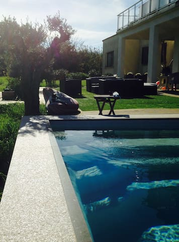 studio avec piscine proche plage - Bastia  - Hus