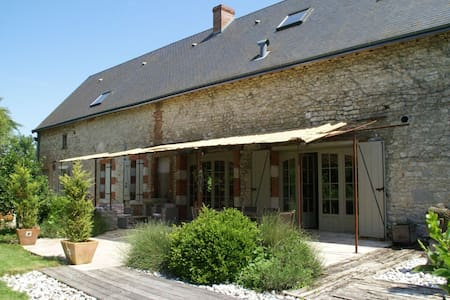 Magnificent villa with pool in historic area of Saint-Péravy la Colombe