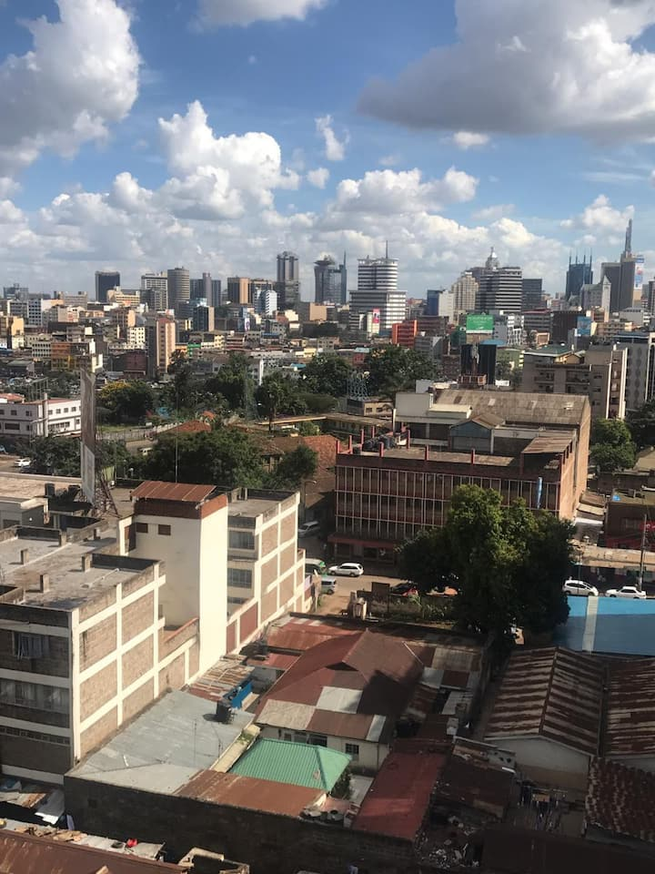 Nairobi home with a view