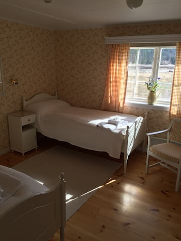 Horstad Gård - Stillevann - Twin Room private bath