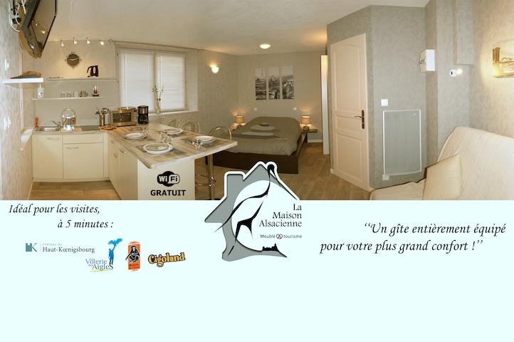 Gîte La Maison Alsacienne - Kintzheim - Wohnung