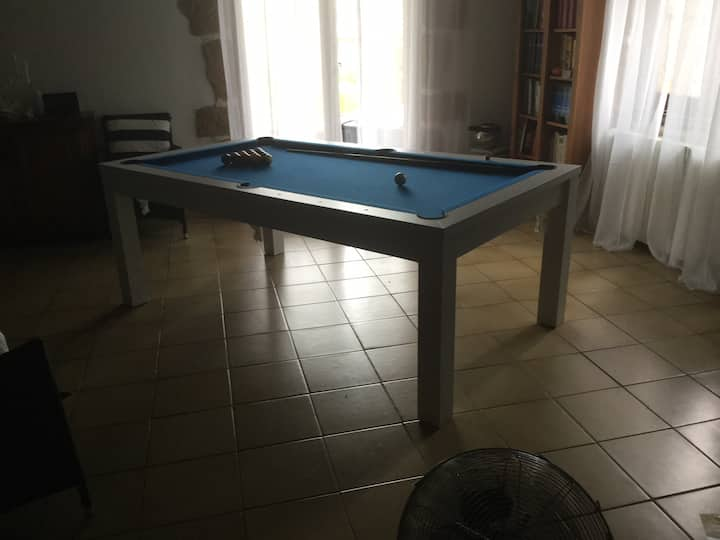 Villa fleurie !!!! Grande chambre calme et tout confort 55 euros la nuit petit déjeuner compris