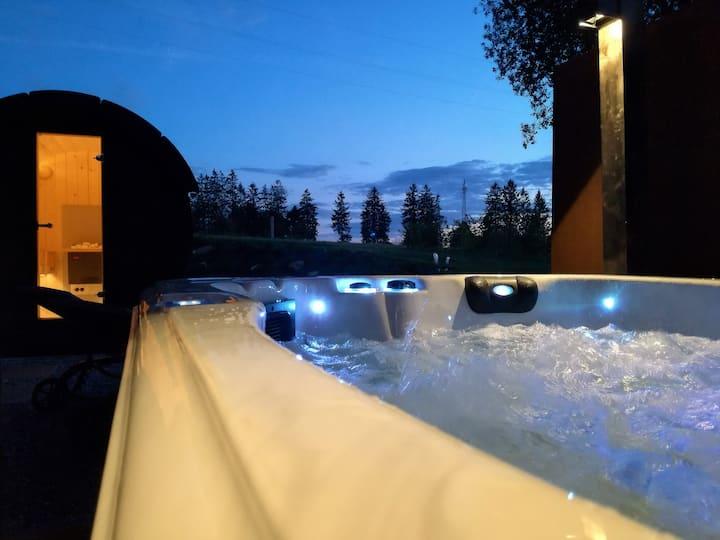 Loft,Jacuzzi,Sauna, bain balnéo  Spa-Francorchamps