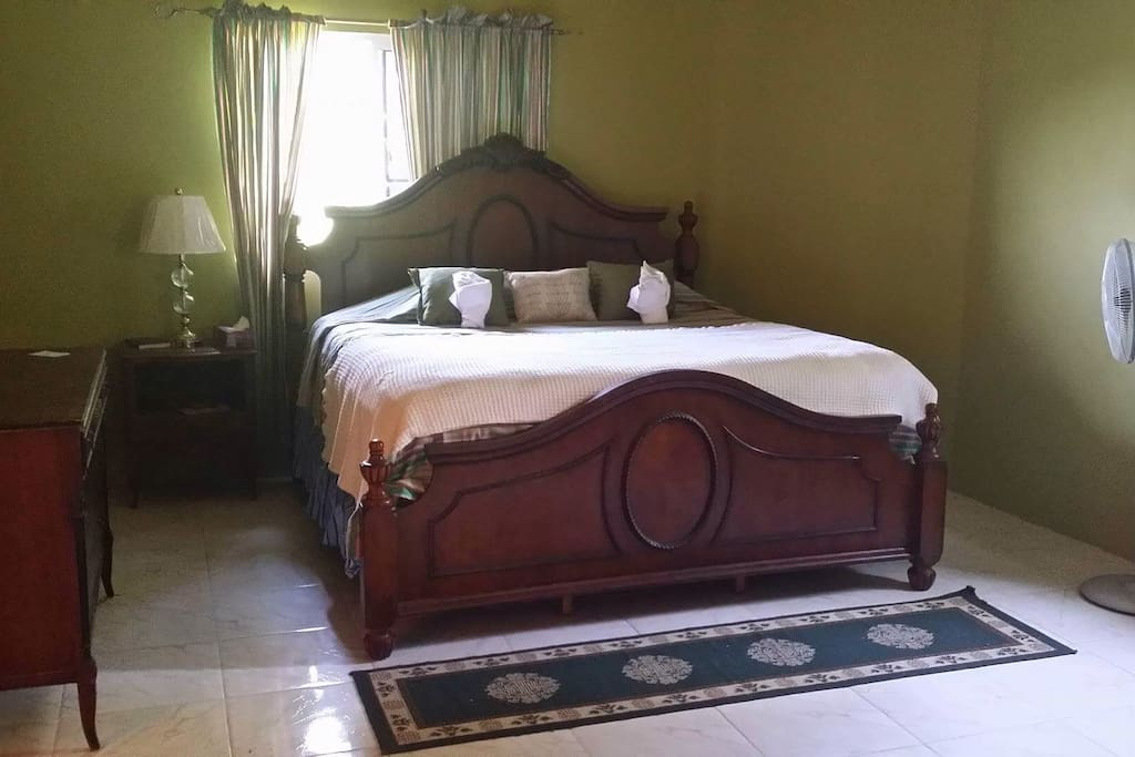 Our king size room