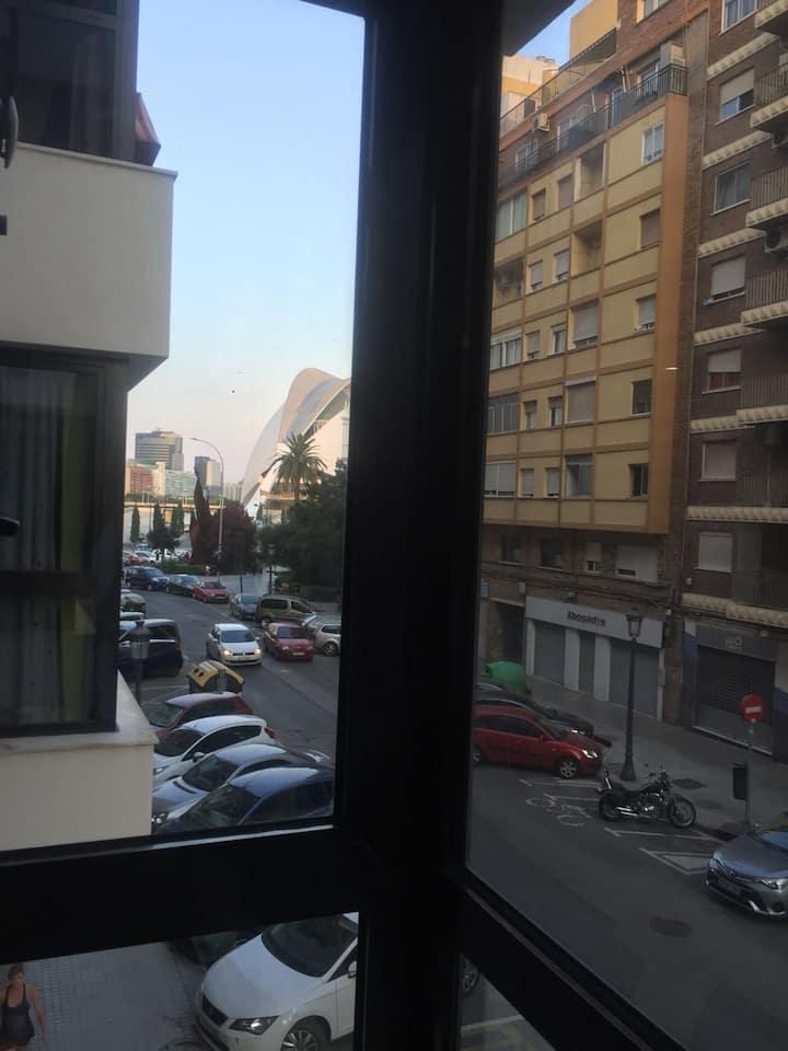 Apartamento junto Ciudad de las Ciencias Valencia