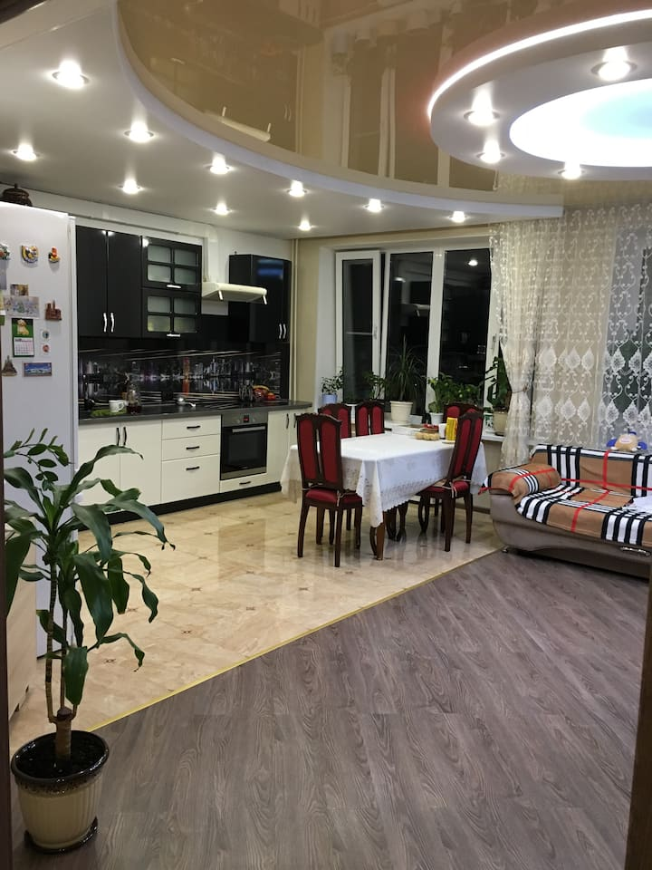 Rent three-room apartment in Saransk