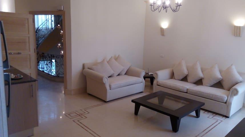 3 Bedroom apartment pool view at ElSafwa Resort
