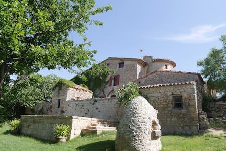 Studio voûte dans ferme templière avec piscine - Baudinard-sur-Verdon