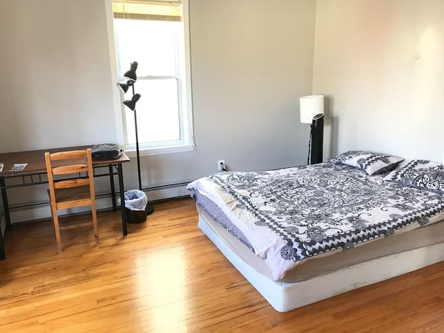 A Large Sunny Room in a 2BD apartment (2B)