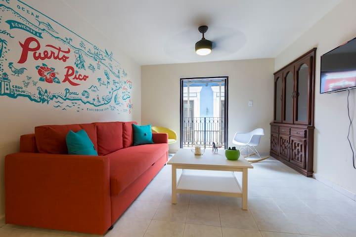 Cozy 2 bedroom apartment in Old San Juan - San Juan - Appartement