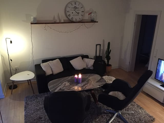 Bedroom in nice apartment close to CPH.