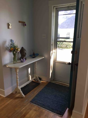 Our welcoming front entryway.