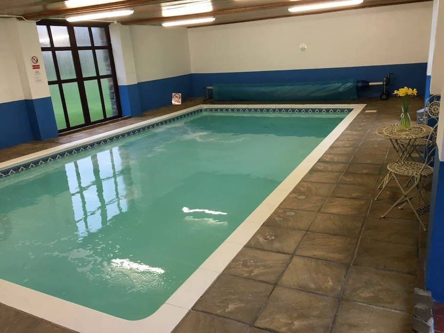 Indoor heated shared pool