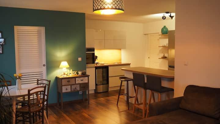 **nouveau** appartement lumineux vue mer