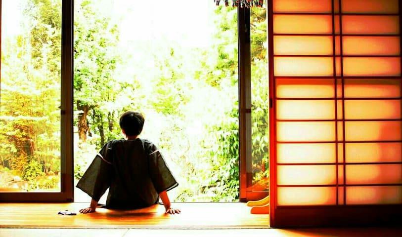 Tatami,Futon&Kotatsu modern style - Chuo - Casa