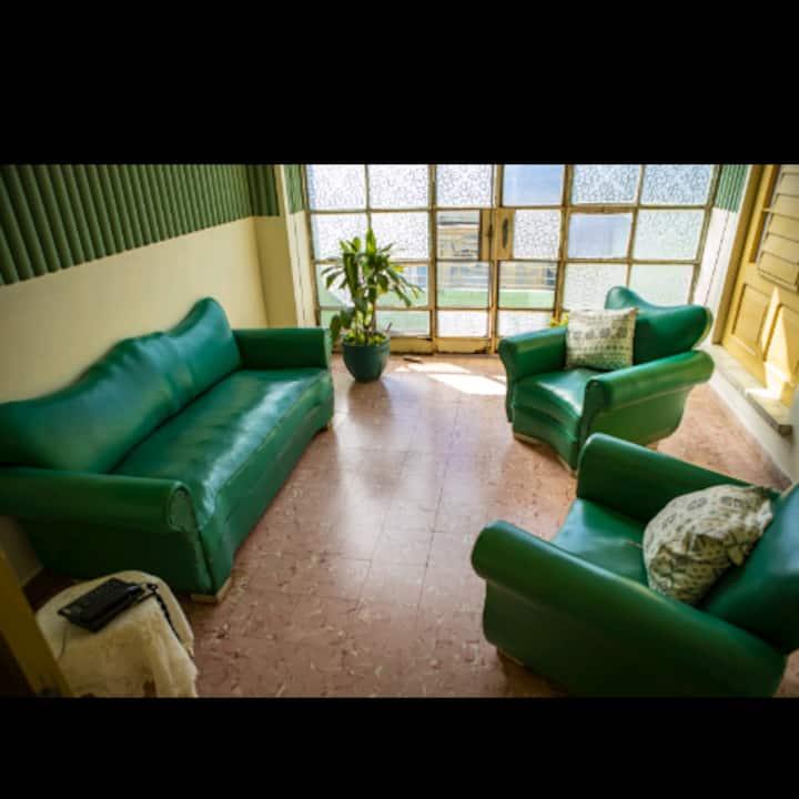 Bentaiga-Galeto Hostal. Room #1.