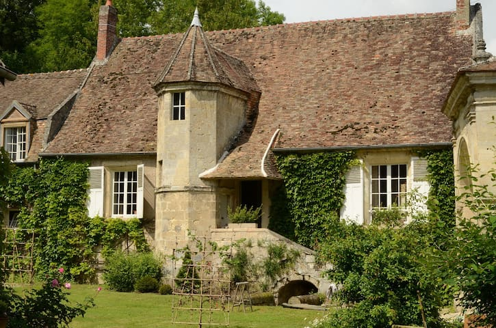 Charming stone cottage in a village