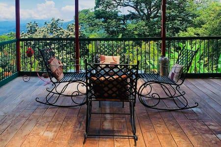 Cabaña Liberia en el paisaje Cafetero.