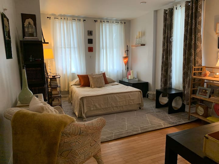 Cozy Quaint Clean Room in South Philly Apartment