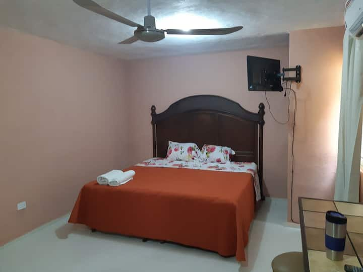 Increíble Suite 2 en Colonia Centro de Merida