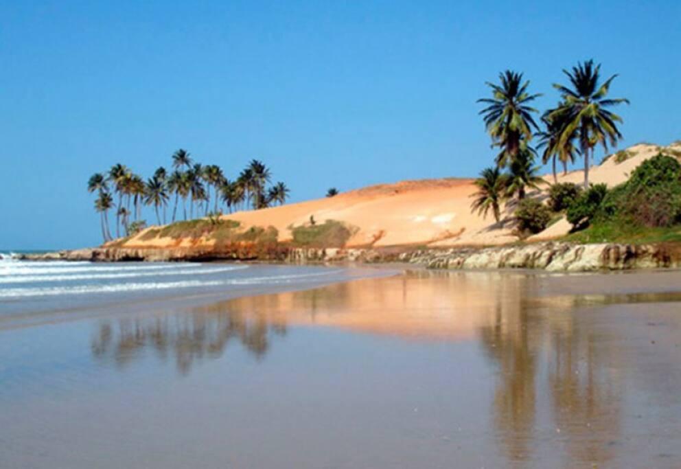 Uma das praia mais bonitas do Brasil