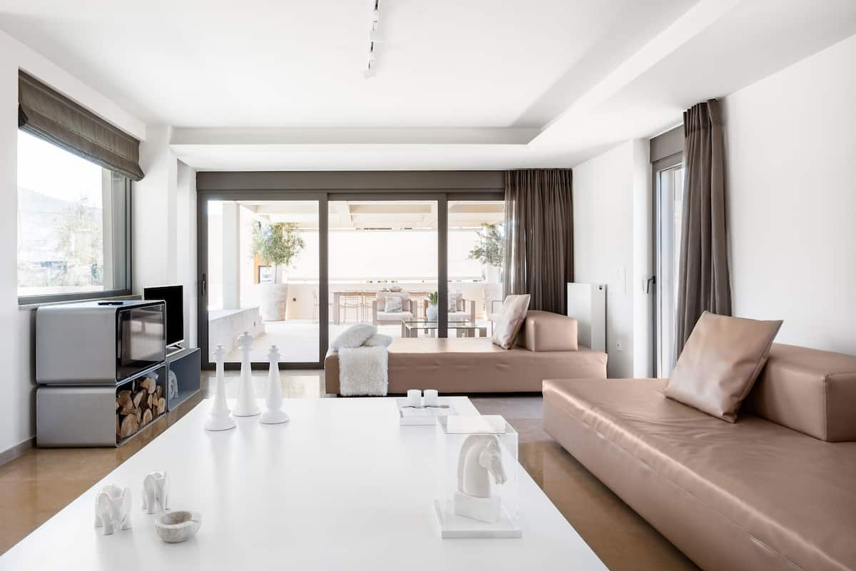 Olive Penthouse with Private Pool near Center of Glyfada