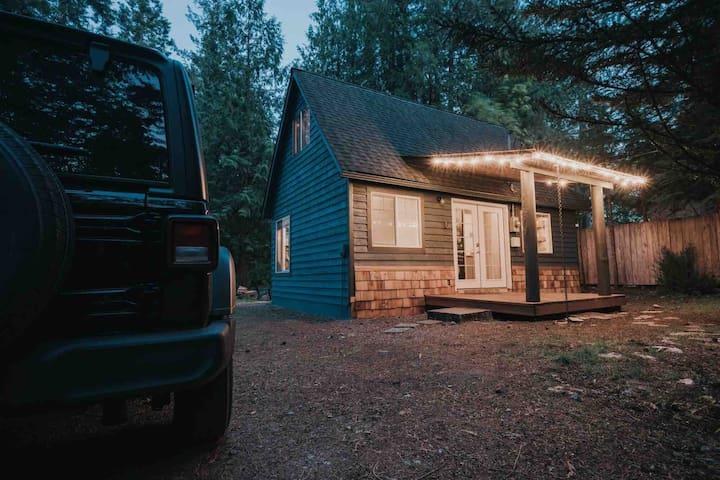 Millard's Cabin @ Mt. Rainier -Hike, Ski, Soak