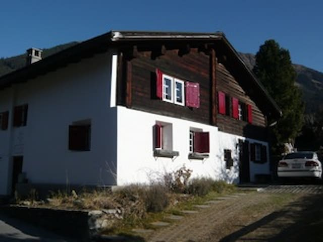 For WEF only: charming chalet in Klosters for rent