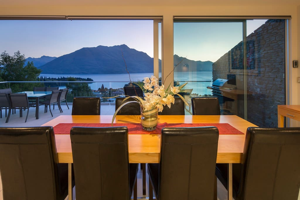 Dine with a view indoors or outdoors