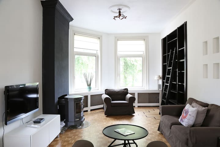 Stylish and spacious Apartment in Park