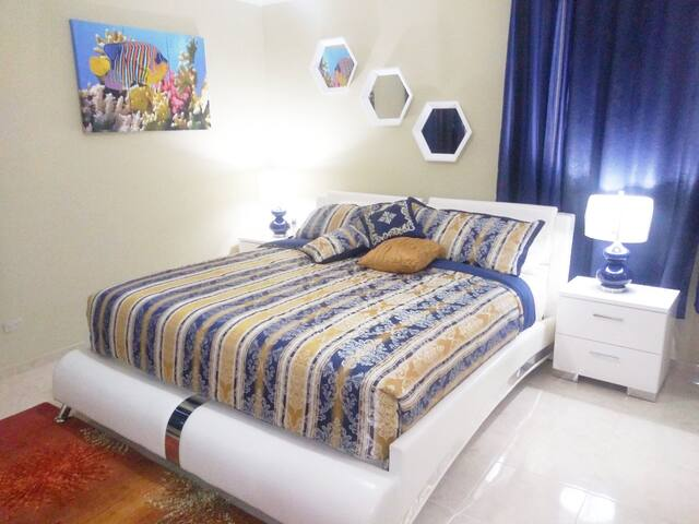 BEDROOM #1 - KING SIZE BED