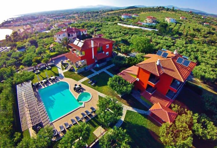Comfortable Apartment in a bright green garden! - Paralia Gerakinis - Appartement