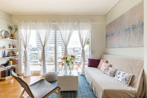 Skyview Penthouse  / Central Athens / Airport Line