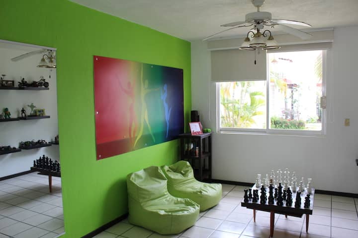 Green Room at La Maison du Tango, Vallarta