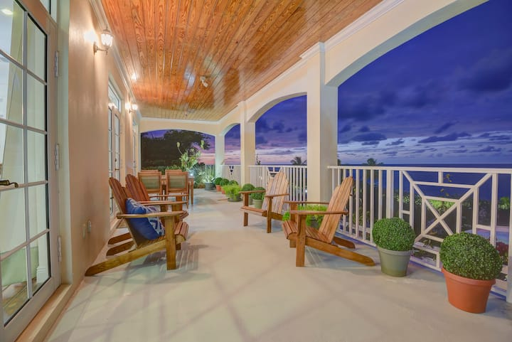 Superb Oceanfront Home with Beach Access