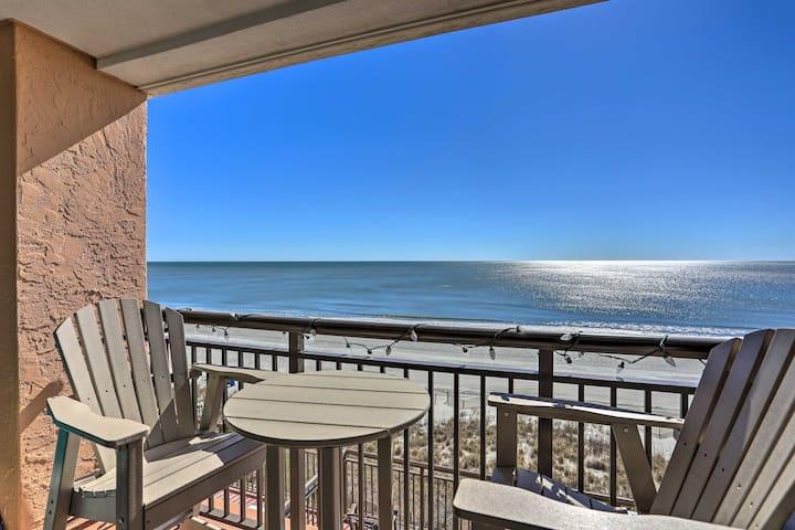 This oceanfront unit has unbelievable views!