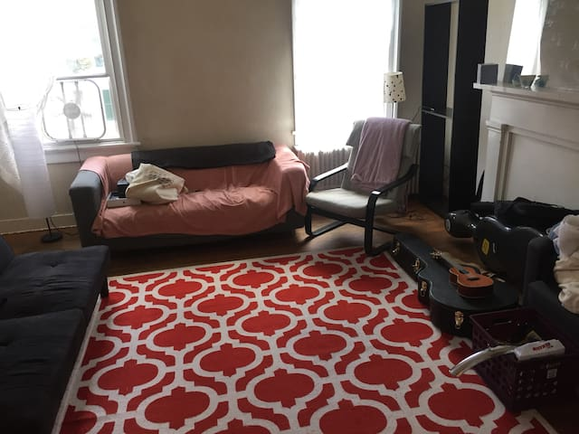 Cozy Bedroom in tight knit community - Red Hook - Apartamento