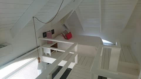 Nice studio loftslejlighed, Cabarete center