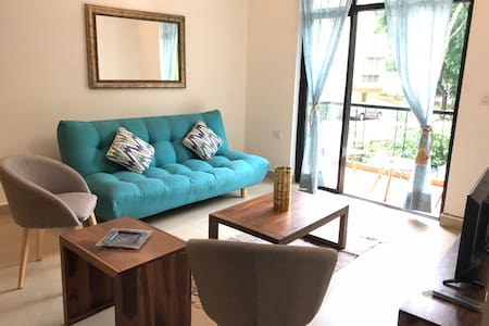 GHV204: 2BHK Apartment with Pool near Calangute