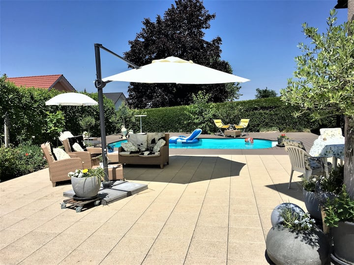 3,5 dans Villa, spacieux, moderne,proche Montreux