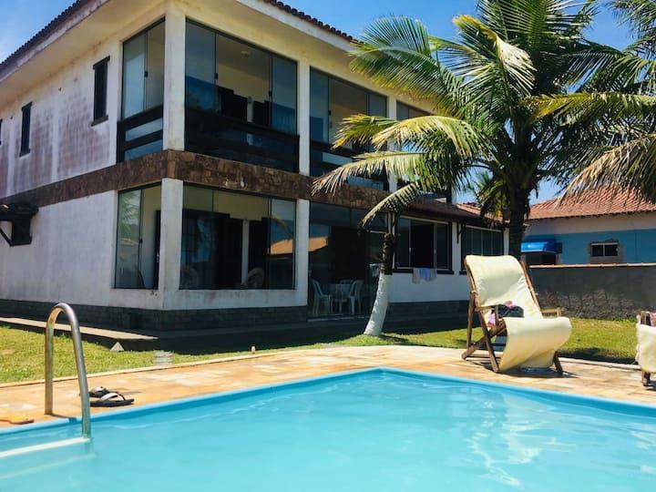 Casa para férias de verão em Barra de São João.