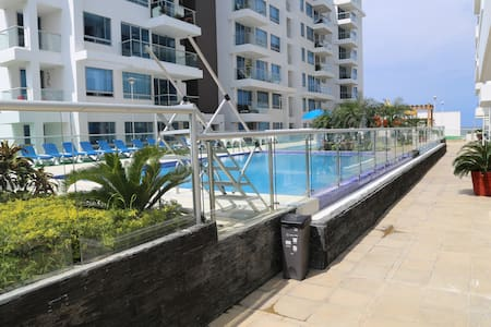 Room in new apartment super close to walled city - Cartagena - Apartamento