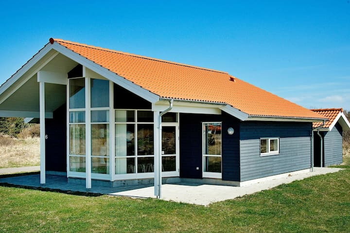 Modern Holiday Home in Ulfborg Jutland with Terrace