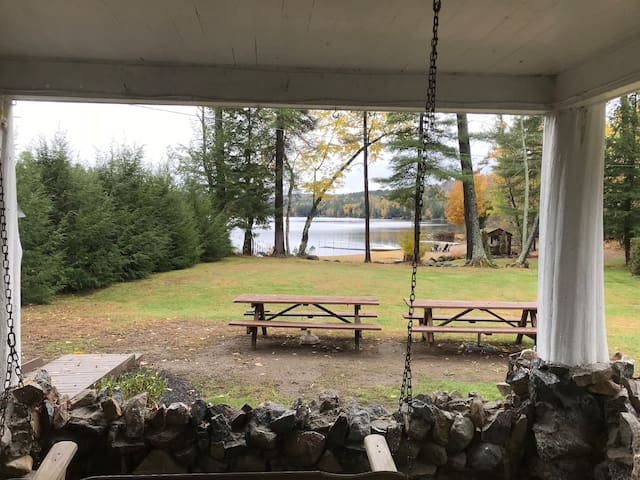 View from porch swing