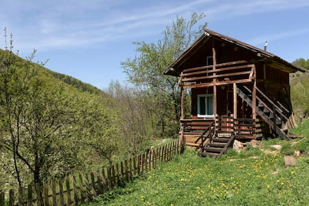 Wooden Cabin at the Falls, Apuseni, Transylvania