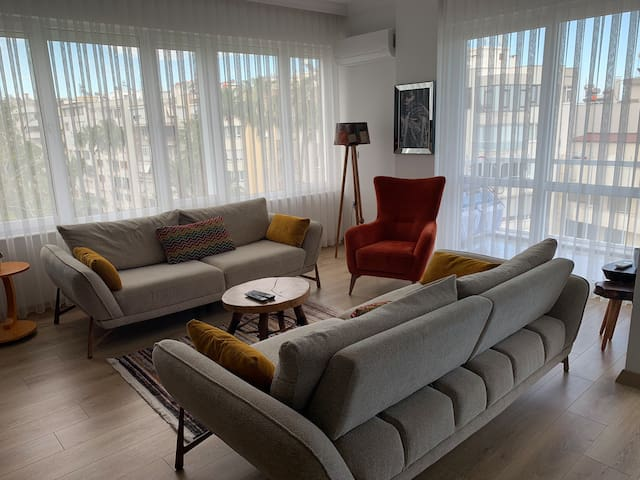 Cosy flat in Central Antalya