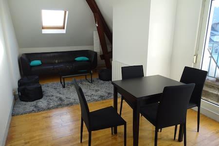 Vue dégagée et calme au centre ville - Saint-Dié-des-Vosges - Apartment