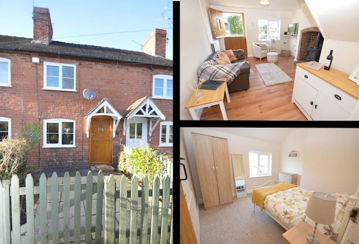 Charming 2 Bed Cottage in Market Town Ludlow - Ludlow - Casa