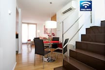 Apartment in the hearth of Pollensa 2 bedrooms, Roff Terrace, Parking, with lift